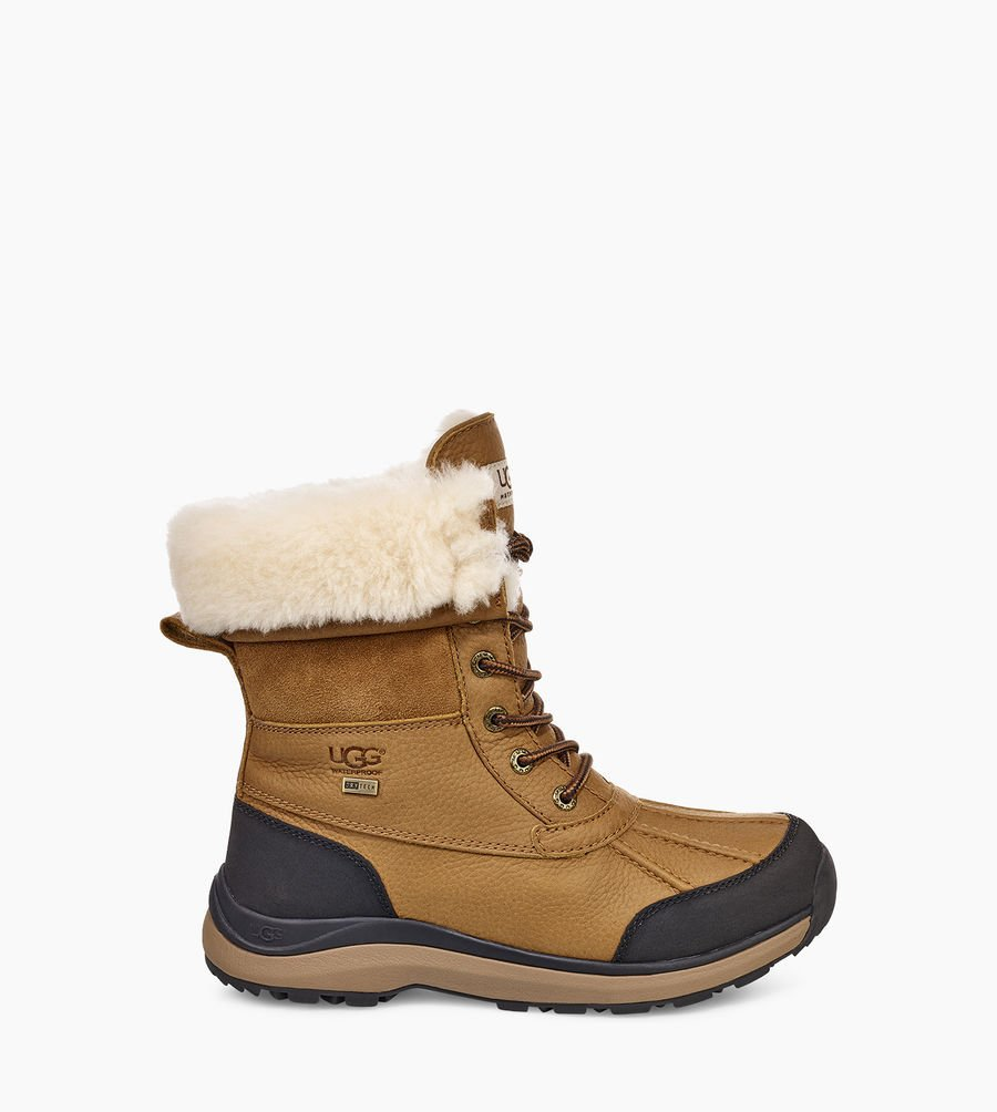 UGG Femme Boots – Adirondack III Bottes Temps Froid -60% – CHESTNUT