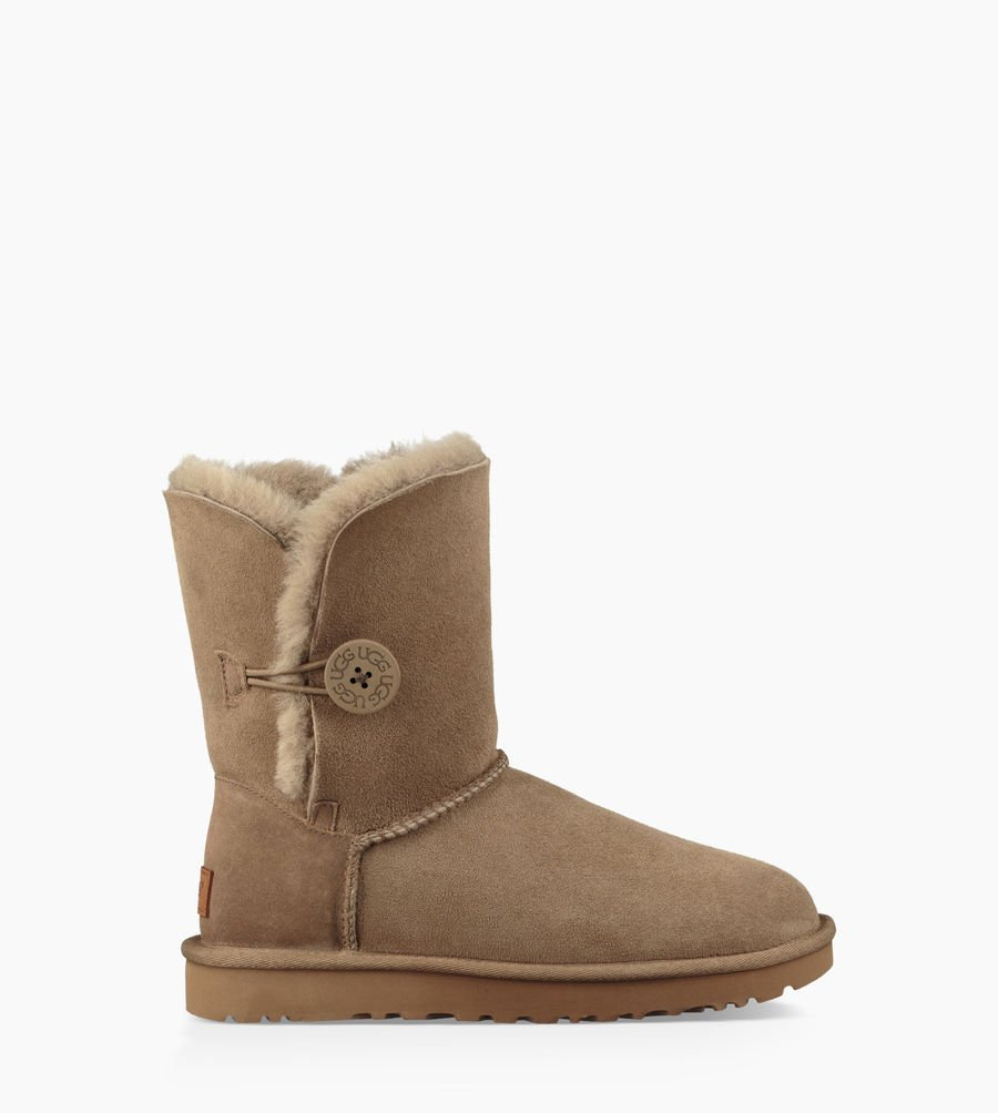 UGG Femme Boots Bailey Button II Bottes Classic 60% ANTILOPE
